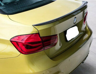 STOCK USA #A83 PAINTED BMW F30 F80 M3 3-Series P Type Trunk Spoiler ABS 2018