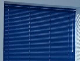 Blue Aluminium Blinds