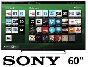 "REFURB* SONY 60"" LED SMART HD TV - 106689082 - 1080P - 120HZ - 60 INCH TELEVISION"