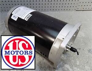 EH755 - U.S. Motors 3-Phase 3HP Full-Rated Pool and Spa Motor