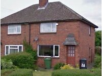 Two Bedroom Semi Detached in Middleton - No LHA