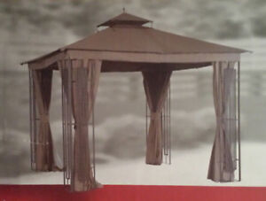 BRAND NEW UNOPENED Gazebo with curtains and flyscreen