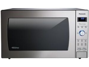 Panasonic 2.2 cu ft stainless steel microwave oven