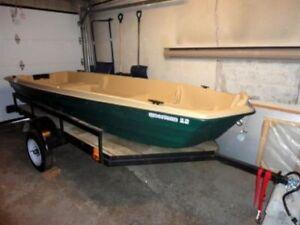 Sun Dolphin American 12' Jon Boat