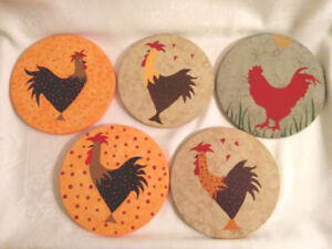 "HOSTESS GIFT? One of a kind Trivets ""Hot Pot"" Table protectors West Island Greater Montréal image 2"