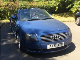 Audi TT Roadster Convertible 225bhp Low Miles, FSH, Mint Condition
