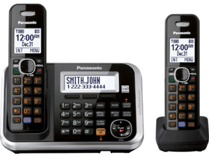 Panasonic - Expandable Digital Home Phone with Answering Machine