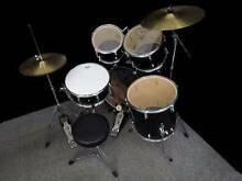 Dixon black drum kit + 1h FREE drum lesson + Extras Caringbah Sutherland Area Preview