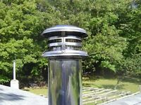 "6"" wood stove chimney cap"