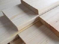 Planed soft wood high quality boards.