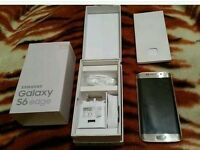 SAMSUNG GALAXY S6 EDGE,128GB GOLD,FACTORY UNLOCKED,IMMACULATE CONDITION,BOXED AS NEW