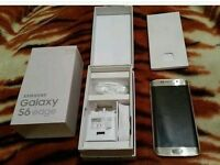 SAMSUNG GALAXY S6 EDGE,32GB GOLD,FACTORY UNLOCKED,IMMACULATE CONDITION,BOXED AS NEW
