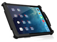 Ballistic Tough Jacket Rugged Outdoor Case Cover for Apple iPad - Black
