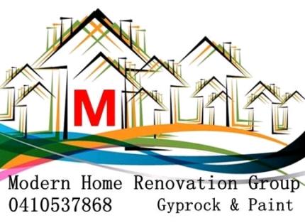 5 start gyprock & plastering modern home renovation group