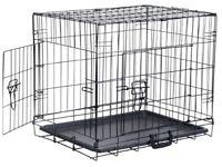 Medium Pop-up Double Door Pet Cage - Easy assemble