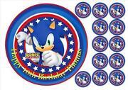 Sonic Cake Topper
