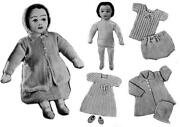 Rag Doll Knitting Pattern