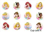 Edible Cupcake Toppers Princess