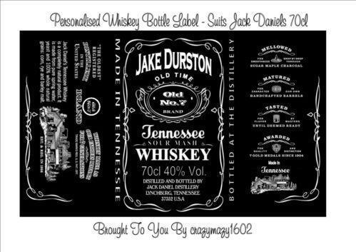 Jack Daniels Best Man Label Best Label Ideas 2019