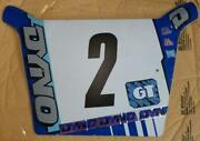 Racing Number Plate