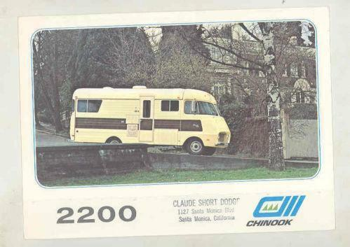 Chinook RV | eBay