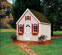 2 in 1 Pattern:  RR Station/Cottage  turns into shed later!