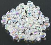 6mm Clear Crystal Beads