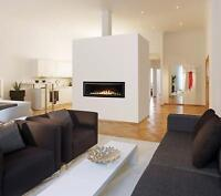 LDV54N Elite Linear Gas Fireplace (Alsips Building Products)