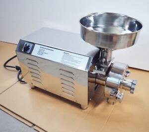 Electric Hammer Mill Herb Grain Grinder Powder Machine 170143