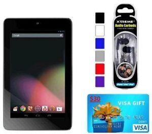 Asus-Google-Nexus-7-ASUS-1B32-32GB-Tablet-30-Visa-Gift-Card-Ear-Buds-bundle