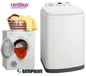 New Simpson 5.5kg Top load Washer can do for $26 Month-Rentbuy