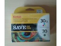 Kodak ink combo pack (30cl + 30) + 1 single pack color ink 30cl + 1 FREE
