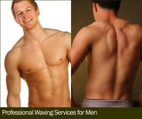 Men Back, Chest, Stomach Waxing only $59.99