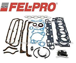 FULL SET GASKET FEL PRO MOTEUR FORD 351 WINDSOR 1975 A 2003