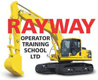 Instructor - training Excavator Operator students