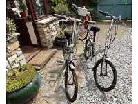 2x Apollo Transition Fold Up Bicycle's