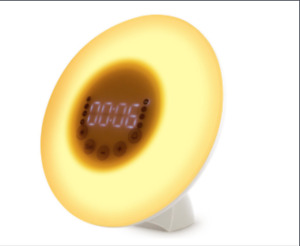 Wake Up Light Electronic Alarm Clocks