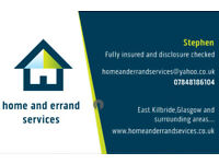 Home and errand services,dog walking,petsitting,errand service shopping,decluttering and much more