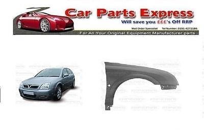 VAUXHALL SIGNUM 2003/2005 O/S (RIGHT) FRONT WING PAINTED ANY COLOUR