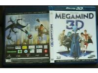 Megamind Blueray DVD
