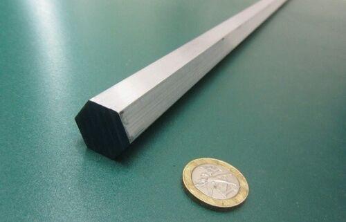 "2024 Aluminum Hex Rod 3/4"" Hex x 6 Ft Length"