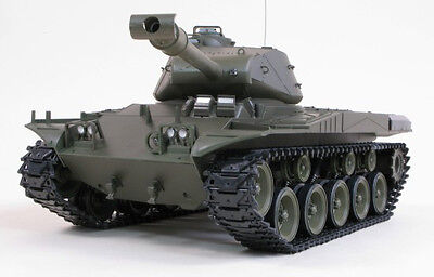 Radio Control 2.4g SMOKE SOUND Heng Long Walker Bulldog 1/16 RC Battle Tank 3839