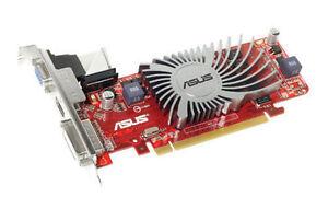 Asus Video Card ATI Radeon HD 5450 1GB DDR3 64Bit Low Profile