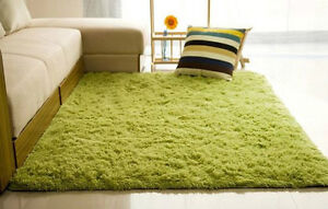 Long Plush Shaggy Soft Carpet Area Rug Slip Resistant