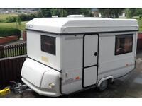 Rapido Orline Folding Caravan 2 berth with 2 Awnings