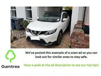 Nissan Qashqai 1.6dCi Tekna XTRONIC CVT -- Read the description before replying!!