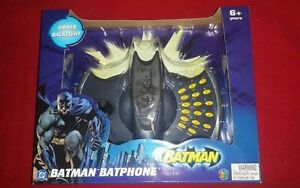 NEW IN ORIGINAL BOX DC BATMAN BATPHONE GREAT COLLECTIBLE