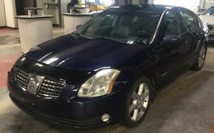 Nissan Maxima SE Top Line Fully Loaded!! Leather!! New Safety!!