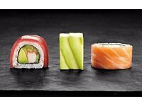 SUSHI CHEF - ALL LEVELS. NEW SUSHI BAR IN NEWBURY OPENING NOW !