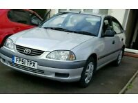 TOYOTA Avensis 2001 1.8, full Toyota service history, low mileage